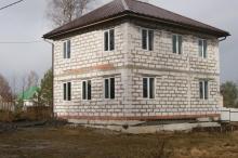 построенные дома из газобетона