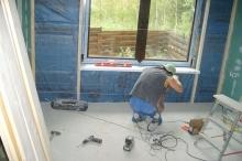 Работы по внутренней отделке загородного дома