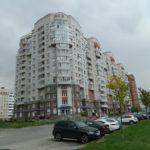 кирпичные дом на Богатырском пр