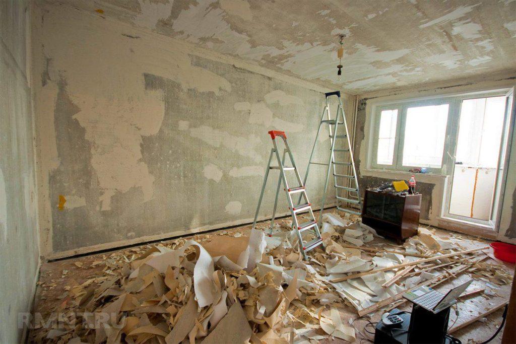 осуществление капитального ремонта квартиры