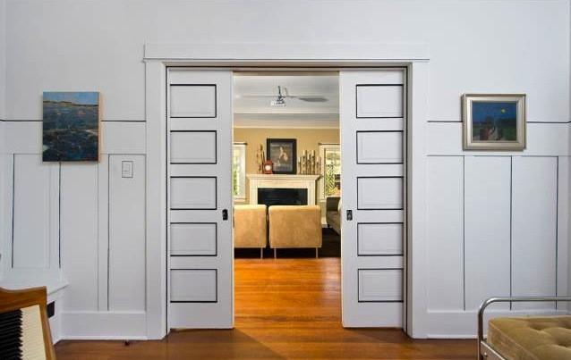 межкомнатные двери раздвижные белые