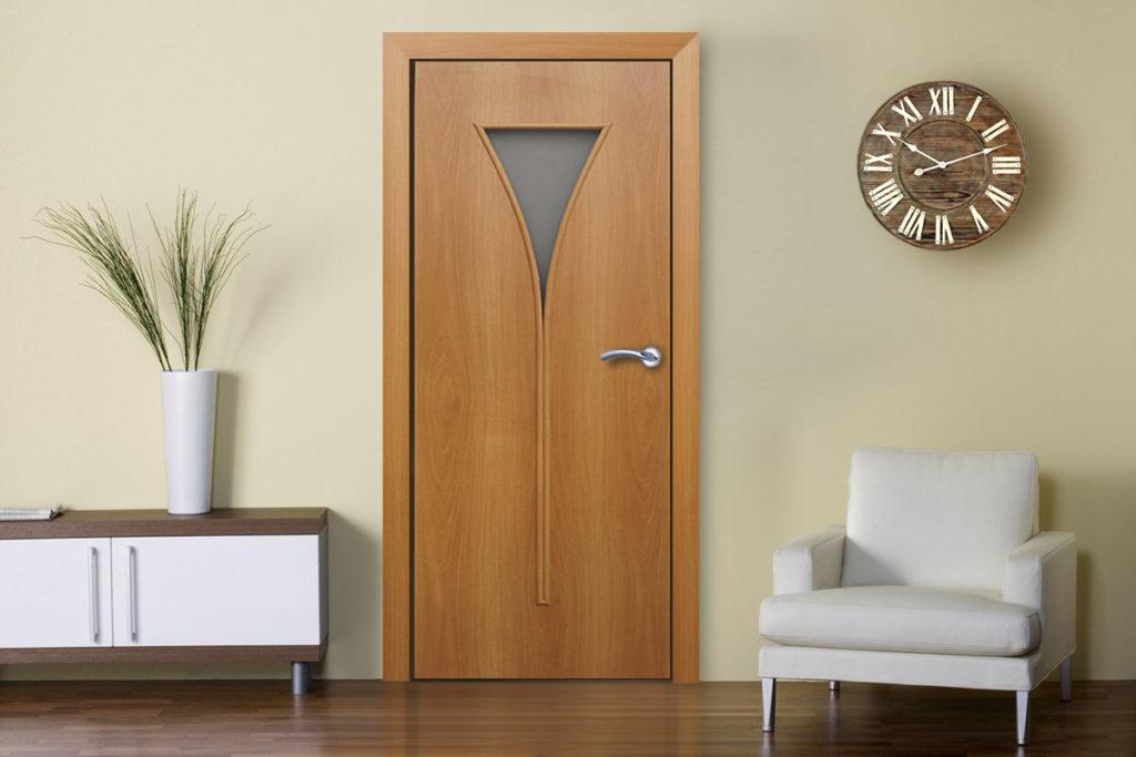 дверь бесшовная